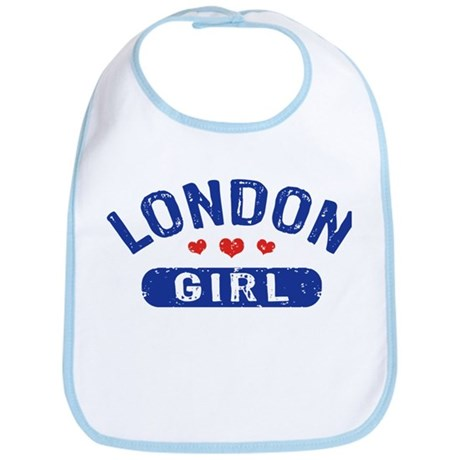 London Girl Bib