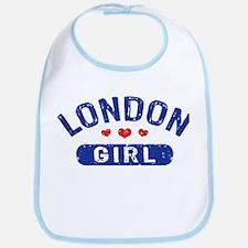London Girl Bib