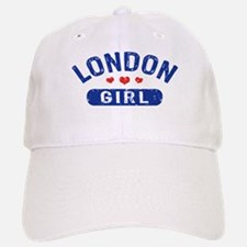 London Girl Baseball Baseball Cap