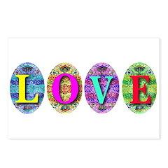 LOVE EGGS (TM) Postcards (Package of 8)