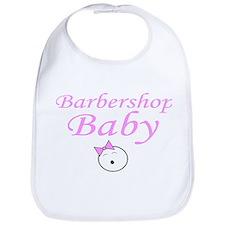 Barbershop Baby Bib - Girl