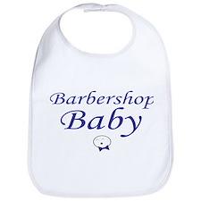 Barbershop Baby Bib - Boy
