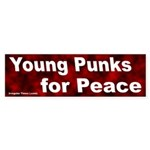 Young Punks for Peace Bumper Sticker