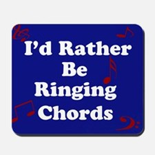 Blue Chords Mousepad