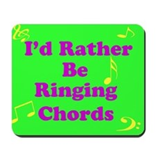 Green Chords Mousepad
