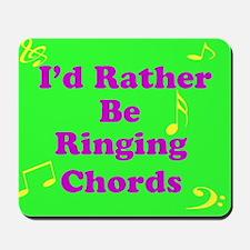 Green Chords Mousepad