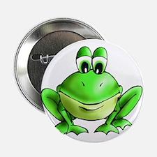 """Unique Frog 2.25"""" Button (10 pack)"""