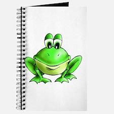 Cute Cartoon frog Journal