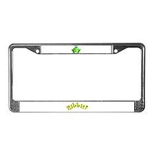 Cute Jeffery License Plate Frame