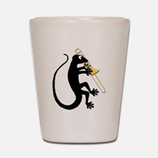 Gecko Trombone Shot Glass