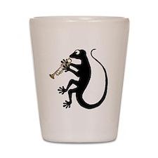 Gecko Trumpet Shot Glass