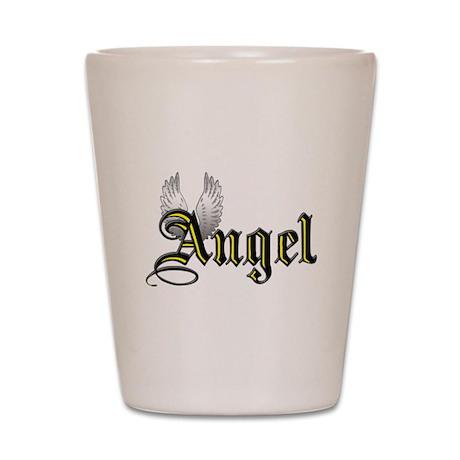 Angel Shot Glass