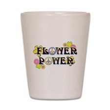 Flower Power Shot Glass