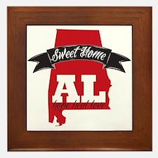 Sweet Home Alabama - Support Framed Tile