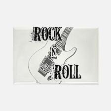 Unique Rock n roll Rectangle Magnet