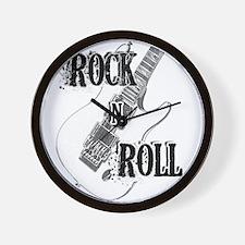Unique Rock n roll baby Wall Clock