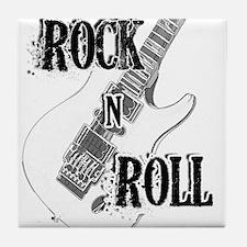 Cute Rock n roll Tile Coaster
