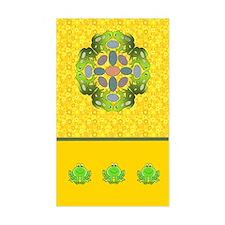 Frog Mandala Decal
