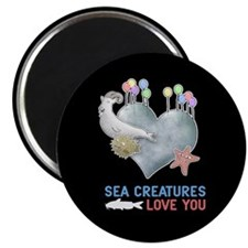 Sea Creatures Magnet