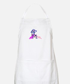Stick figure 3 BBQ Apron