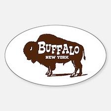 Buffalo New York Oval Decal