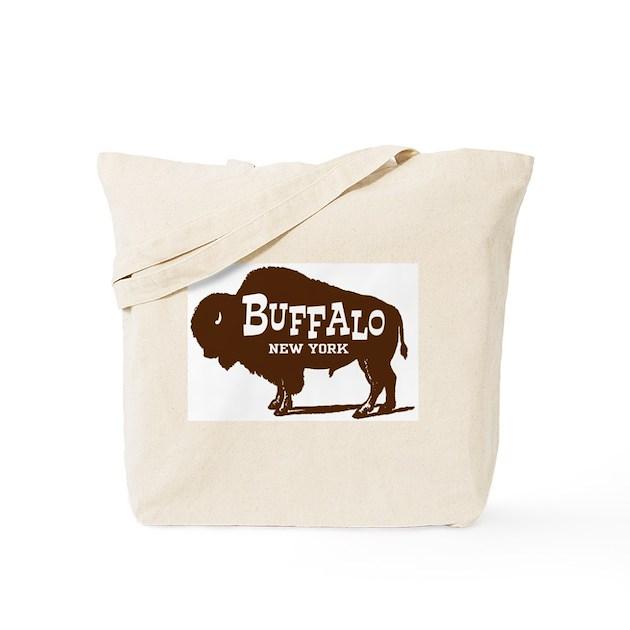 Buffalo New York Tote Bag By Ilovemystate