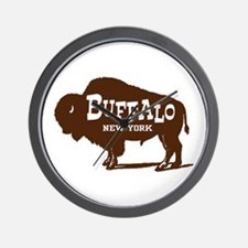 Buffalo New York Wall Clock