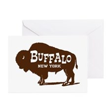 Buffalo New York Greeting Cards (Pk of 10)
