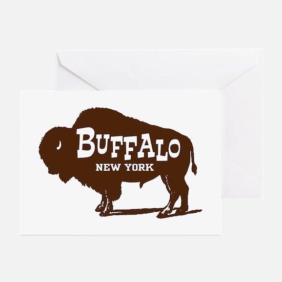Buffalo New York Greeting Cards (Pk of 10)