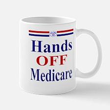 Hands OFF Medicare Mug