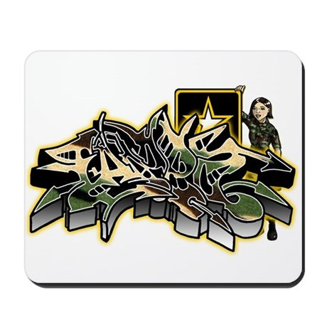 Fazed Army Mousepad