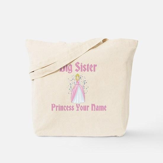 Big Sister Princess Personali Tote Bag