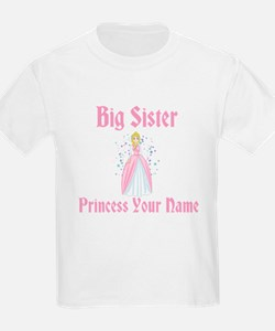 Big Sister Princess Personali T-Shirt