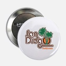 "San Diego CA 2.25"" Button"
