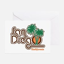 San Diego CA Greeting Cards (Pk of 10)