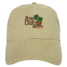 San Diego California Baseball Cap