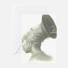 Our Hair, Our Roots Greeting Cards (Pk of 10)