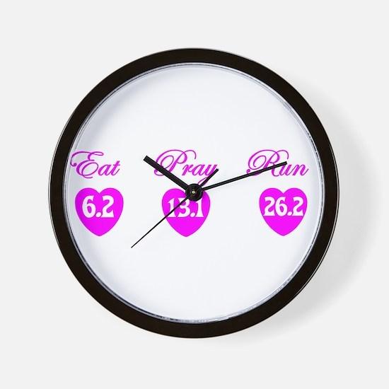 10k half marthon marathon shirt sticker Wall Clock