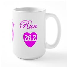 10k half marthon marathon shirt sticker Mug