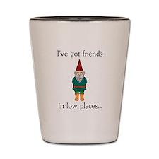 Gnome Friends Shot Glass