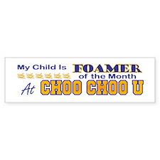 Choo Choo U Bumper Bumper Sticker