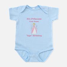 Princess Personalized Birthda Infant Bodysuit