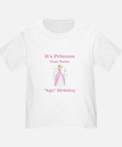 Princess Personalized Birthda T