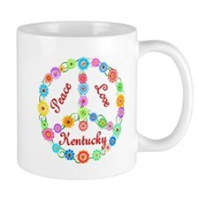 Peace Love Kentucky Mug