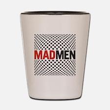 Mad Men Pop Art Shot Glass