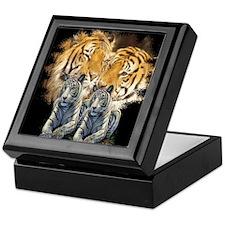 Tiger Love Keepsake Box
