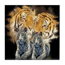Tiger Love Tile Coaster