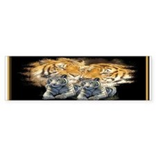 Tiger Love Bumper Bumper Sticker