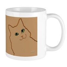 Orange Kitty Mug