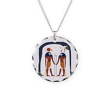 Unique Ra Necklace Circle Charm